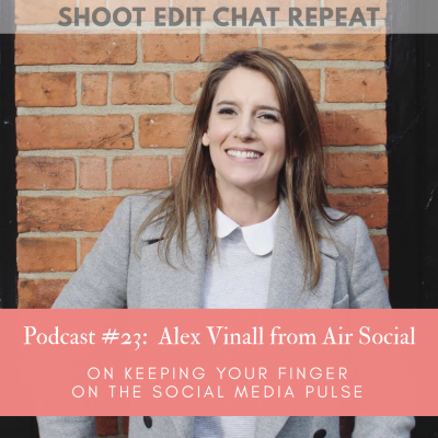 #23  Alex Vinall from Air Social:  On keeping your finger on the social media pulse