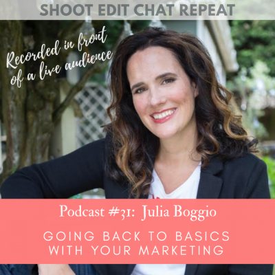 #31  Julia Boggio:  Going back to basics with your marketing
