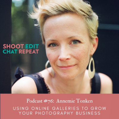 #76: Using online galleries to grow your photography business with Annemie Tonken