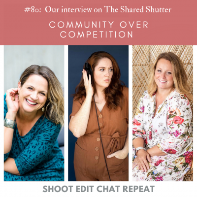 #80: Community over Competition | Our interview on the Shared Shutter